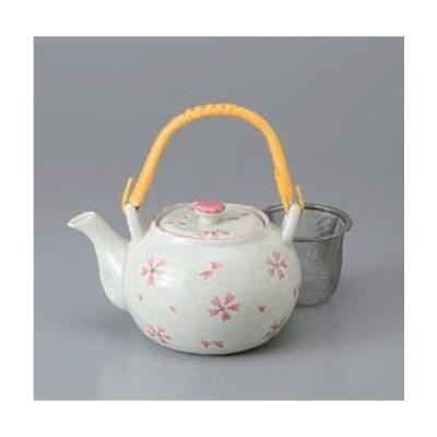 土瓶 急須 さくら淡雪4号土瓶 茶器 ティーポット 陶器