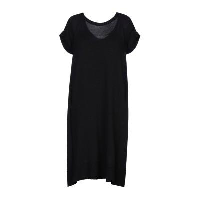 ツインセット シモーナ バルビエリ TWINSET ミニワンピース&ドレス ブラック M コットン 100% / レーヨン / ナイロン ミニワンピ