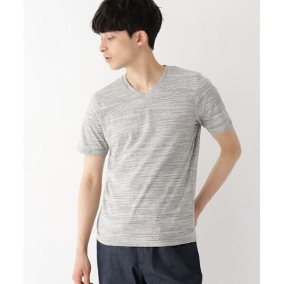 tシャツ Tシャツ OTARIE スペースダイ Vネック半袖Tシャツ
