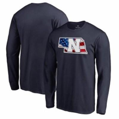 Fanatics Branded ファナティクス ブランド スポーツ用品  Fanatics Branded Nebraska Cornhuskers Navy Banner State