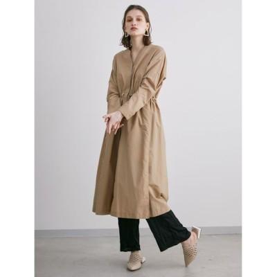 ELENDEEK / ナイロンライトペーパーワンピースコート WOMEN ジャケット/アウター > ナイロンジャケット