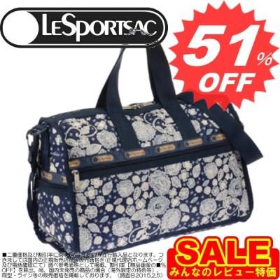 レスポートサック ボストンバッグ LESPORTSAC Medium Weekender 7184 D522 Floral lace print