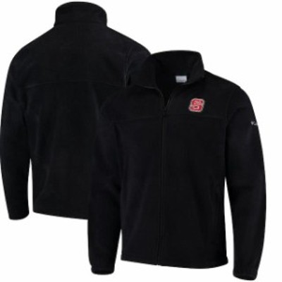 Columbia コロンビア スポーツ用品  Columbia NC State Wolfpack Black Flanker Full Zip Fleece Jacket
