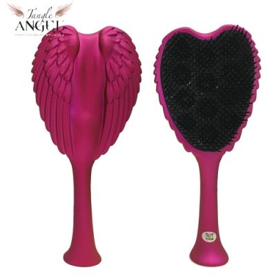 Tangle Angel 英國凱特王妃御用天使梳-亮粉22.7cm加大款(王妃梳 天使梳 美髮梳 梳子)