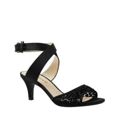 ジェイレニー レディース サンダル シューズ Soncino Strappy Dress Sandals Black