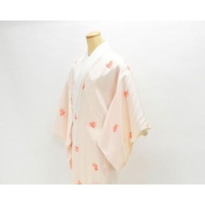 長襦袢 正絹 やっこさん模様 長襦袢 リサイクル 着物