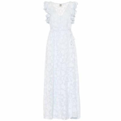 バウム ウンド ヘルガーデン Baum und Pferdgarten レディース ワンピース ワンピース・ドレス Aiza silk-blend maxi dress Heather