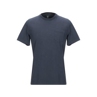 イレブンティ ELEVENTY T シャツ ダークブルー L コットン 100% T シャツ