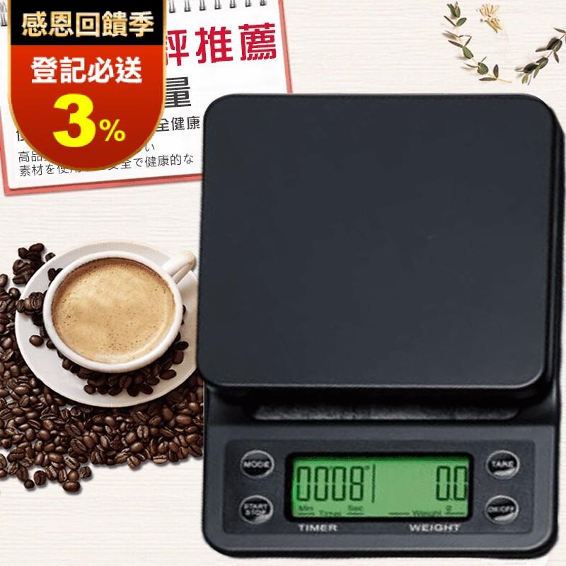 【DR.Story】日本熱銷嚴選手沖咖啡專用電子秤C006(咖啡 手沖咖啡 40
