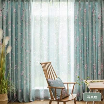 レースカーテン おしゃれ ギフト 安い 洋室 北欧 花柄 カントリー風 出窓 上飾り お得なサイズ