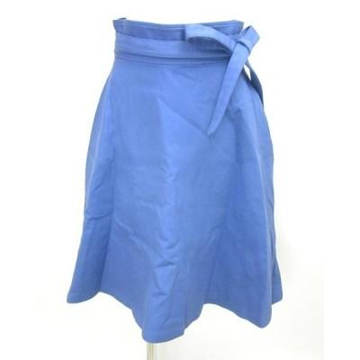 JILLSTUART ジルスチュアート ブルーラップスカート