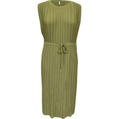 アルファニ Alfani レディース ワンピース ミドル丈 ワンピース・ドレス Pleated Tie-Waist Midi Dress Fresh Sprout