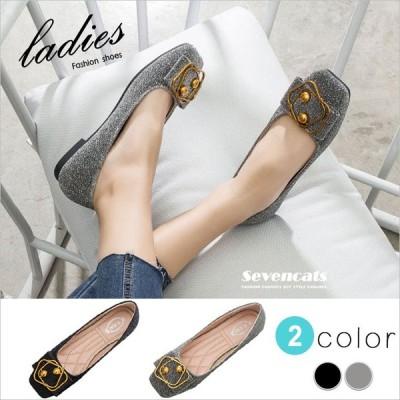 パンプス レディース シューズ ローヒール サンダル メタル 靴 おしゃれ 履きやすい 夏 春 ミュール 美脚 通勤 送料無料 母の日