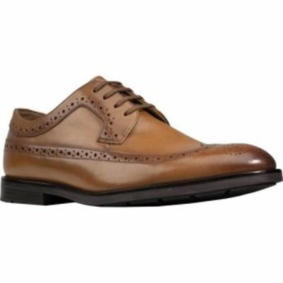 クラークス Clarks メンズ 革靴・ビジネスシューズ ウイングチップ シューズ・靴 Ronnie Limit Wing Tip Oxford Tan Full Grain Leather