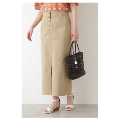 NATURAL BEAUTY BASIC(ナチュラルビューティーベーシック)Aラインロングスカート◆