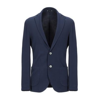 TOMBOLINI テーラードジャケット ダークブルー 52 ポリエステル 95% / ポリウレタン 5% テーラードジャケット