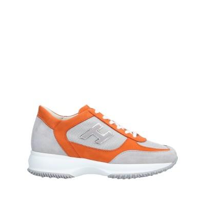 ホーガン HOGAN スニーカー&テニスシューズ(ローカット) オレンジ 38 紡績繊維 / 革 スニーカー&テニスシューズ(ローカット)