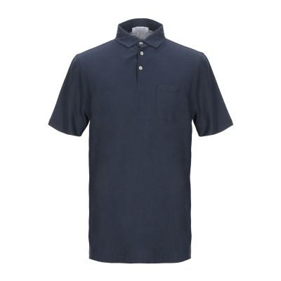 ヘリテージ HERITAGE ポロシャツ ダークブルー 48 コットン 100% ポロシャツ