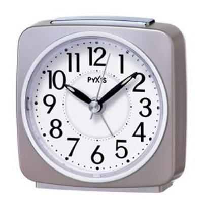 セイコー【SEIKO】ピクシス目覚まし時計 薄ピンクパール塗装 NR440P★【ライト付】