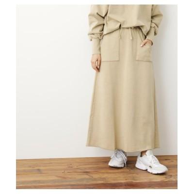 スカート 【WEB限定】ピグメントスウェットスカート