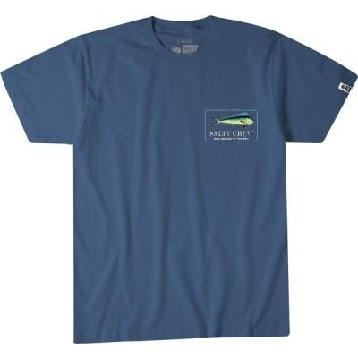ソルティクルー Tシャツ トップス メンズ Salty Crew Men's El Dorado Short Sleeve T-Shirt Navy