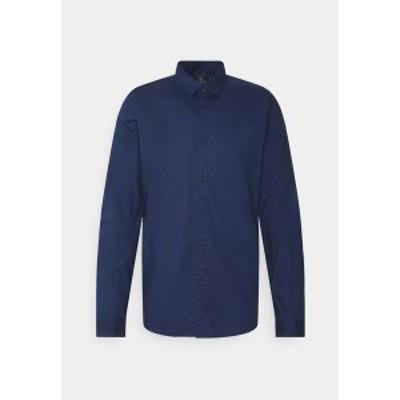 スコッチアンドソーダ メンズ シャツ トップス TONAL CHEST - Shirt - night night