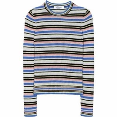 ヴァレンティノ Valentino レディース ニット・セーター トップス Striped cotton sweater Multicolored