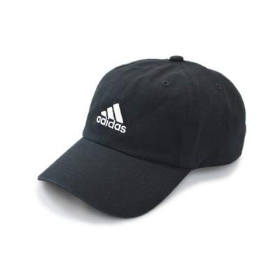 adidas アディダス キャップ 311001 ブラック 黒 メンズ レディース 男女兼用 紳士 婦人 浅め 帽子 洗える 吸汗速乾 UVカット90% サイズ調節可 ネット通販 春夏