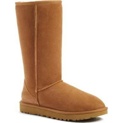 アグ UGG レディース ブーツ シアリング シューズ・靴 Classic II Genuine Shearling Lined Tall Boot Chestnut Suede