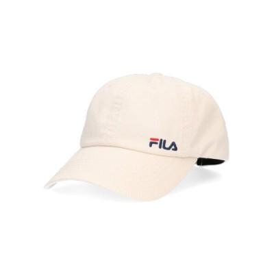 (FILA/フィラ)FILA SMALL LOGO CAP/レディース ベージュ