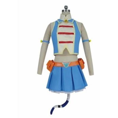 僕のヒーローアカデミア ピクシーボブ 風★ コスプレ衣装  完全オーダメイドも対応可能 * K4703