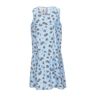 マルニ MARNI ミニワンピース&ドレス スカイブルー 42 コットン 100% ミニワンピース&ドレス