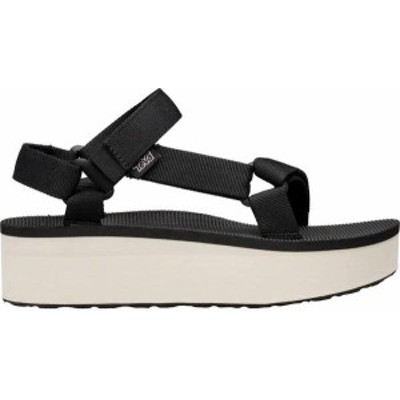 テバ レディース サンダル シューズ Teva Women's Flatform Universal Sandals Black/Tan