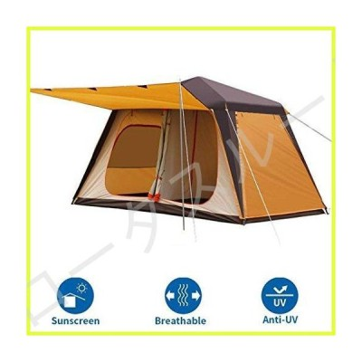 Family Camping Tents Camping Tents 4-6 People, Outdoor Pop-Up Tents, Automatic Dome Tents, Thick Tunnel Tents For Camping Waterproof Sunscre