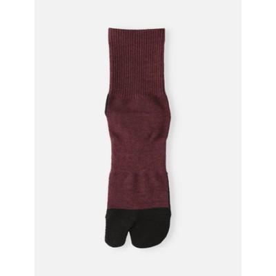(TriporousFIBER)パイル足袋ショートソックス25.0~27.0cm