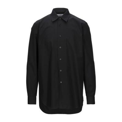 ジル サンダー JIL SANDER シャツ ブラック 40 コットン 100% シャツ