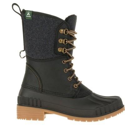 カミック ブーツ&レインブーツ シューズ レディース Kamik Women's Sienna2 200g Waterproof Winter Boots Black
