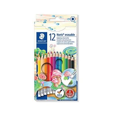 ステッドラー ノリスクラブ 消せる色鉛筆12色セット 144 50NC12