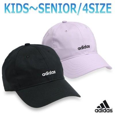 アディダス キャップ ランニング 帽子 大人 子供 キッズ 綿 コットン 軽量 ジョギング ウォーキング 男女兼用 ロゴ/T4H ベースボール キャップ GVN46