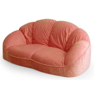 ソファ ソファベッド ソファ 「CROISSANT」 ローソファ コンパクトソファ 10074 ローソファー ソファー 2人用 二人 イス 椅子 リビング 可愛い 一人暮らし デザ