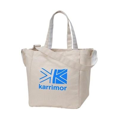 カリマー(karrimor) コットントート cotton tote K.ブルー Logo 92154 トートバッグ ショルダーバッグ マザーズバッグ 旅行 アウトドア カジュアル