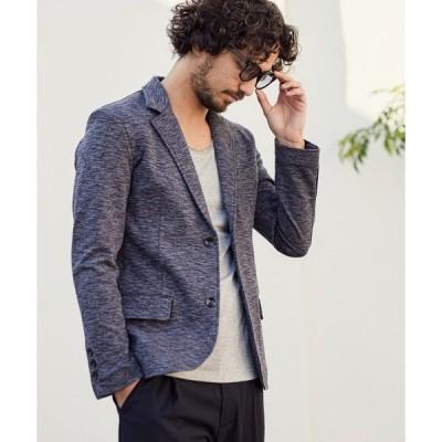 ジャケット テーラードジャケット mj7050-Melange Slim Tailored Jacket テーラードジャケット
