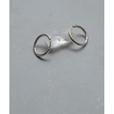 Jenny BY IMMANOEL / silver925 フープピアス 1.5cm WOMEN アクセサリー > ピアス(両耳用)