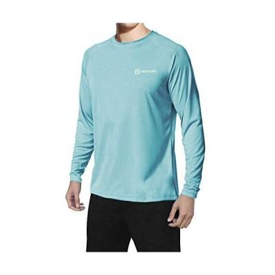 Pashionic メンズ UPF 50+ 紫外線保護 速乾アウトドアTシャツ US サイズ: X-Large カラー: ブルー
