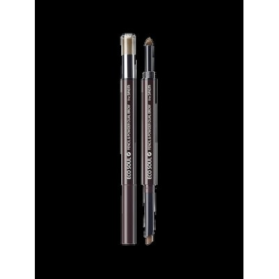 ザセム(The Saem) エコソウルペンシル&パウダーデュアルブロー [Pencil] 0.3g