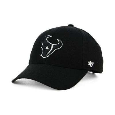 47ブランド メンズ 帽子 アクセサリー Houston Texans NFL Black & White '47 MVP Cap