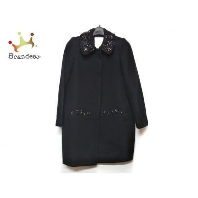 チェスティ Chesty コート サイズ0 XS レディース 黒 冬物/ビジュー   スペシャル特価 20210108