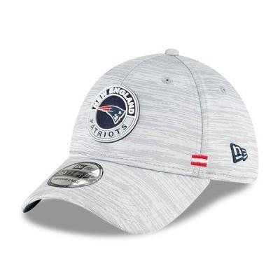 ペイトリオッツ キャップ 帽子 NFL ニューエラ New Era グレー 2020 NFL サイドライン 39THIRTY メンズ