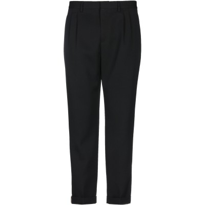 CALVIN KLEIN 205W39NYC パンツ ブラック 44 ウール 100% パンツ