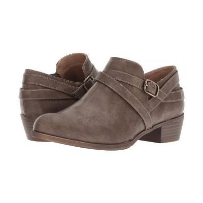 LifeStride ライフストライド レディース 女性用 シューズ 靴 ブーツ アンクル ショートブーツ Adley - Taupe